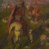 """Ulpiano CHECA Y SANZ - Painting - """"Regreso del guerrero"""""""