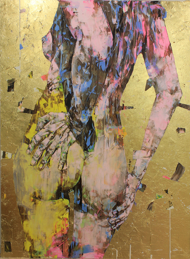 Marco GRASSI - Painting - The Di-Gold Experience 150x200 cm