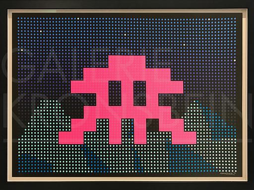 侵略者 - 版画 - LED