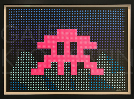 INVADER - Print-Multiple - LED