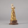Louis Armand BARDERY - Escultura - Louis Armand Bardery (1879-1952), Jeune élégante, XIXe