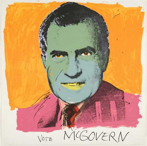 Andy WARHOL - Print-Multiple - Vote McGovern