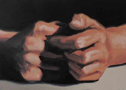 Thierry CARRIER - Painting - Sans titre (code 1434)