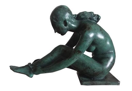 Francesco MESSINA - Sculpture-Volume - Danzatrice