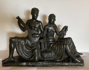 Eugen MAYER-FASSOLD - Skulptur Volumen - Singing Couple