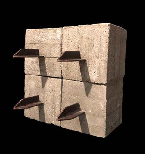 Mauro STACCIOLI - Sculpture-Volume - Barriera