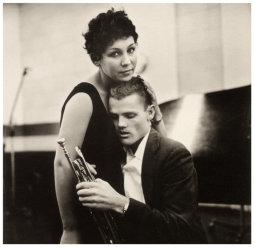 William CLAXTON - 照片 - Chet Baker and Lili, Hollywood