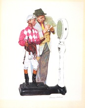 Norman Perceval ROCKWELL - Print-Multiple - *Weighing In