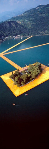 CHRISTO - Photo - Lago d'Iseo - WV43