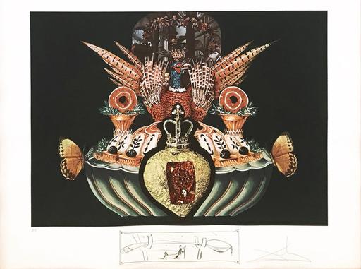 萨尔瓦多·达利 - 版画 - Les Chairs Monarchiques
