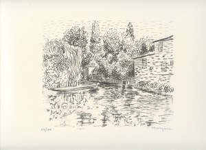 Albert MARQUET - Print-Multiple - LITHOGRAPHIE PONS SIGNÉE MAIN NUM/100 HANDSIGNED LITHOGRAPH