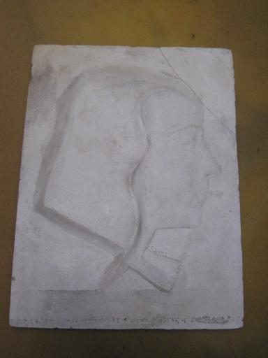 Joseph CSAKY - Sculpture-Volume - TETE DE JEUNE FILLE