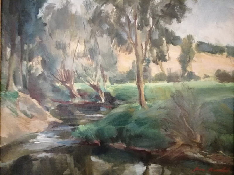 Jean BOUCHET - Pintura - Paysage de Provence