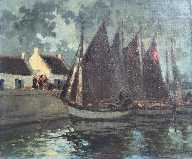 Pierre Jean DUMONT - Gemälde - MARINE