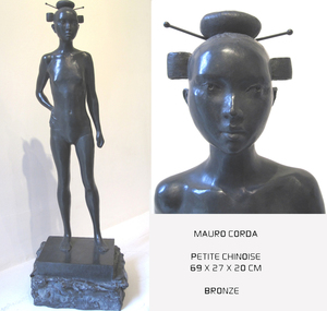 Mauro CORDA - Sculpture-Volume - PETITE CHINOISE