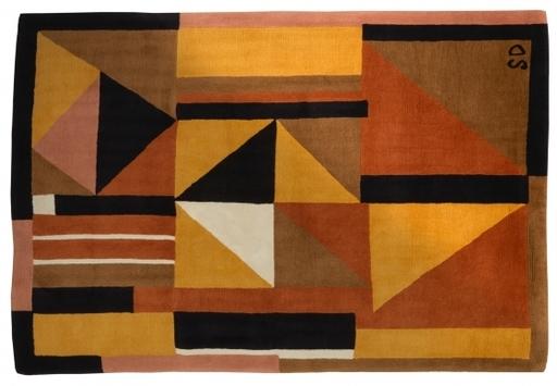 """Sonia DELAUNAY-TERK - Tapestry - Tapis """"Arlequin"""""""