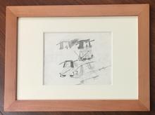 Pino PASCALI - Drawing-Watercolor - Tre moschettieri