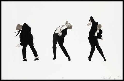 Robert LONGO - Grabado - Men in the Cities plate (I)