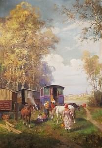 Leonardo RODA - Gemälde - Nomadi