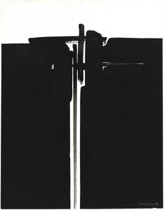 André MARFAING - Dibujo Acuarela - Composition