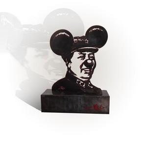 ARno SEBBAN - Sculpture-Volume - Mickey mao II