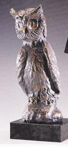 Manfred HORN - Skulptur Volumen - Weisheit der Eule
