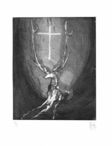 Nag ARNOLDI - Grabado - Il Cervo restò Cervo
