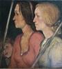 Nikolaas Mathijs EEKMAN - 绘画 - Deux jeunes femmes