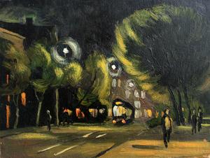 Valeriy NESTEROV - Pintura - Donetsk-2. Ukraine