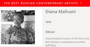 Diana Malivani Artprice Gallery